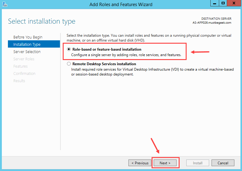 Installing DHCP Role in Windows Server 2012 R2 - 3