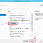 Installing DHCP Role in Windows Server 2012 R2