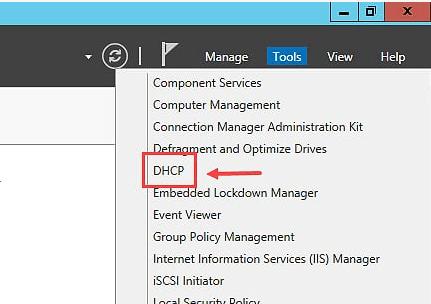 Backup DHCP Server in Windows Server 2012 R2 - 1