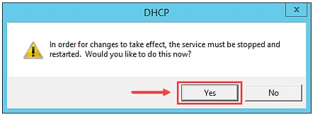 Restore DHCP Server in Windows Server 2012 R2 - 5