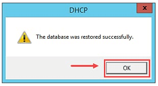 Restore DHCP Server in Windows Server 2012 R2 - 6