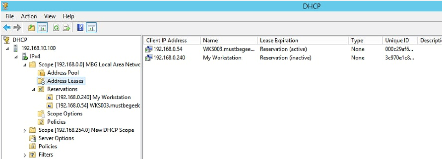 Restore DHCP Server in Windows Server 2012 R2 - 7