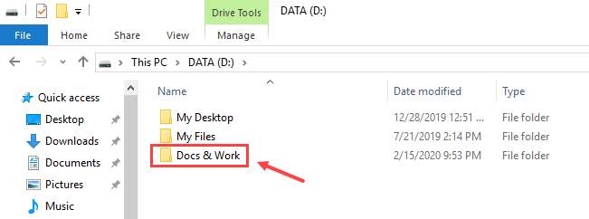 How to Move Documents Folder in Windows 10