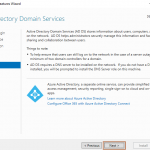 Install Active Directory Domain Controller in Windows Server 2019